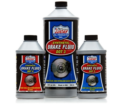 Synthetic Brake Fluid Dot 3 & 4