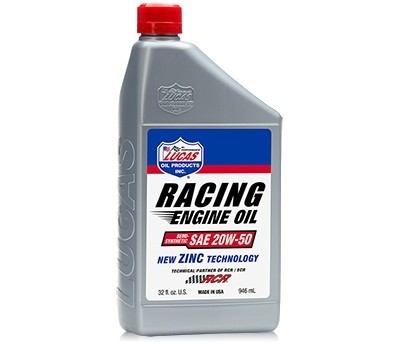 Semi-Synthetic Racing Only Motor Oil