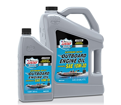 Synthetic SAE 10W-30 Outboard Engine Oil