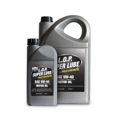 L.O.P. Super Lube Fully Synthetic 5w-40 Motor Oil